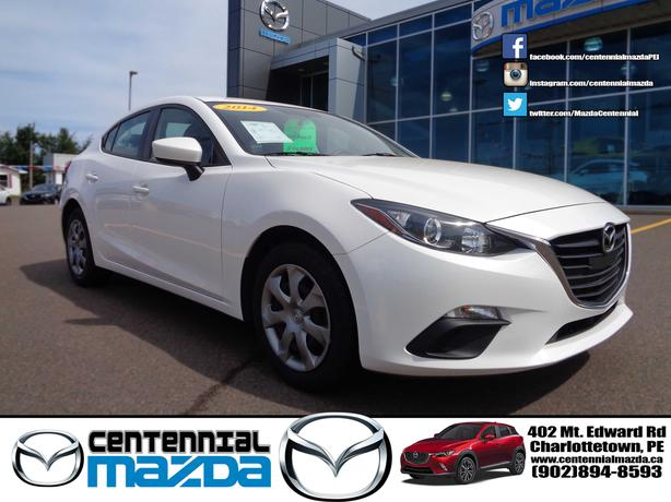 2014 MAZDA 3 GX SEDAN AUTOMATIC WITH A/C REDUCED TO $13990