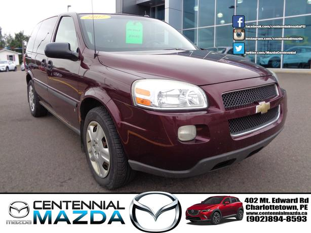 2007 CHEVY UPLANDER SWB 7 PASSENGER AS TRADED