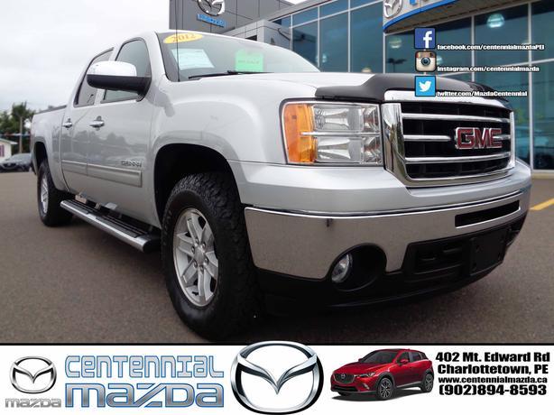2012 GMC SEIRRA C/C 4X4 SLE REDUCED TO $27830