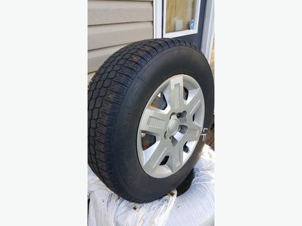 dodge journey/caravan winter tires/rims/sensors
