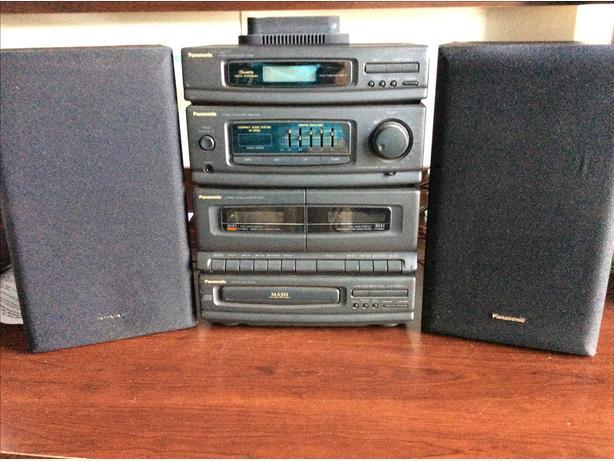 Panasonic bookcase stereo
