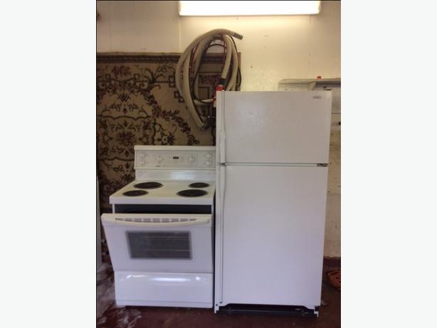 REFRIGERATOR PLUS OTHER APPLIANCES