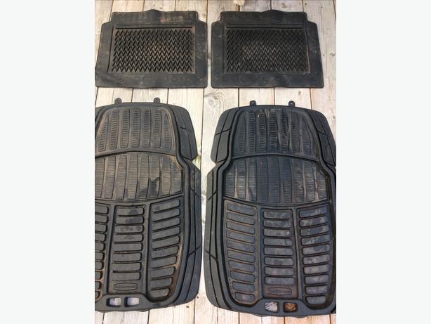 Rubbermaid car mats