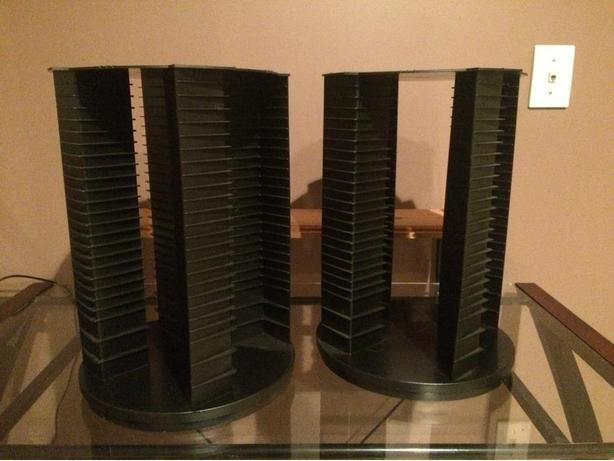 2 CD Spinners (20 for the Pair)