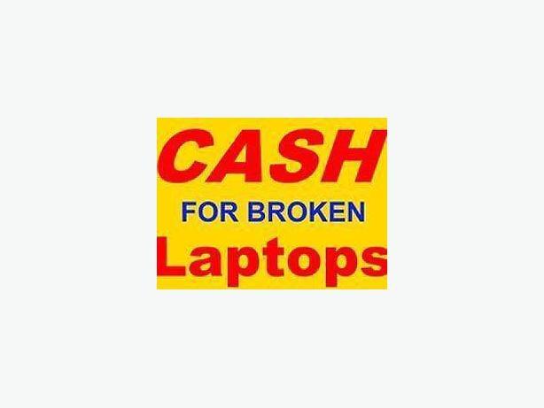 wanted broken unwanted laptops