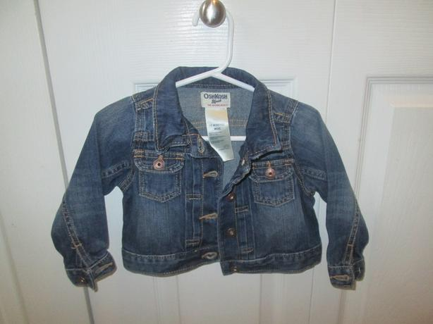 Osh Kosh Jean jacket - 18 mth