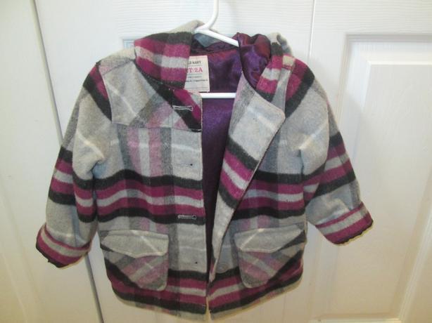 Old Navy winter jacket - size 2