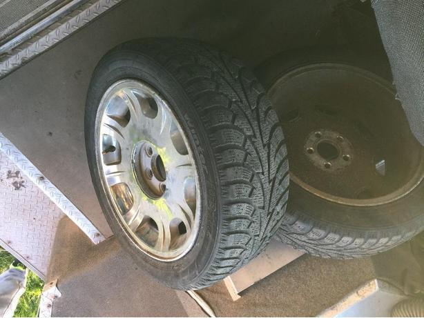 2 Winter Tires and rims for chrysler 300