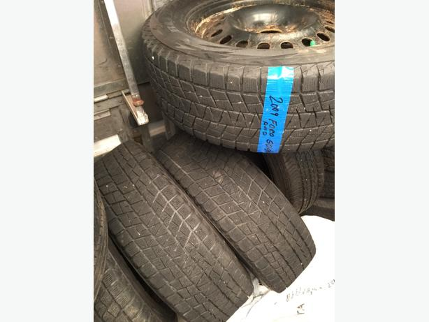 4 Michelin Winter Tires with Rims Ford Edge