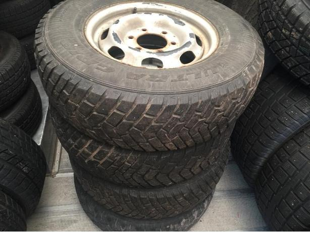 4 winter tires with rims for Chevy Colorado