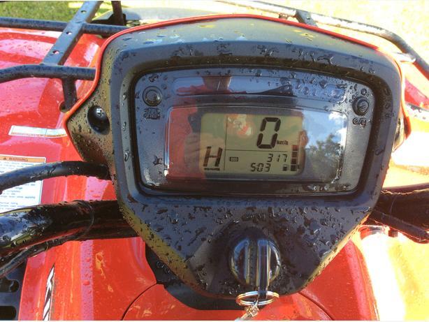 2015 Suzuki KingQuad 500AXI ATV