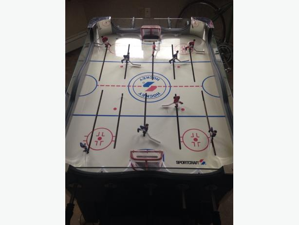 stand up hockey table