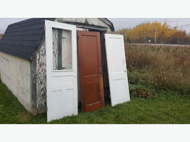 Doors, radiators