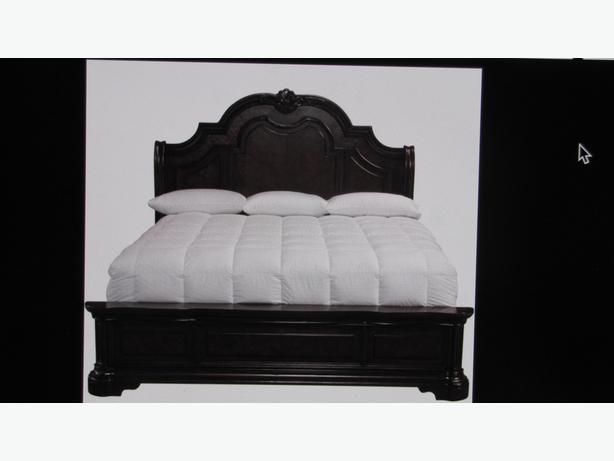 WANTED: KING SIZE HEADBOARD/FOOTBOARD AND RAILS
