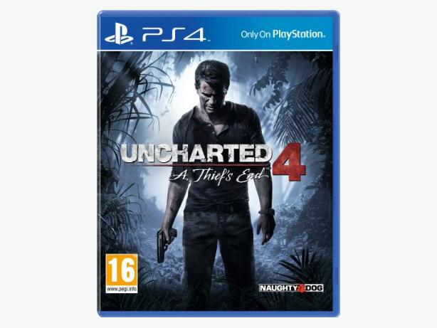 Uncharted 4 - A Thiefs End PS4 Game