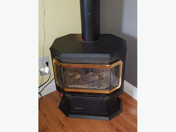 propane fire place