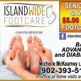Nursing Footcare clinic in York PEI and home visits available.