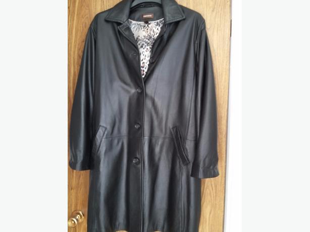 Danier Leather Coat  3/4 length