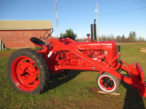 1950 MacCormack Farmal Super C Tractor