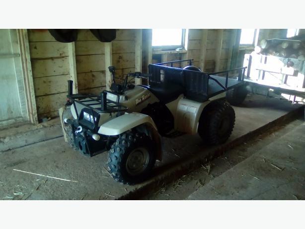 Yamaha ATV $900 or trade for single cyl or small twin snowmobile 902-214-0644