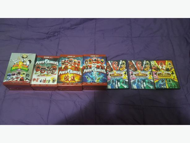 O.B.O Power Rangers Seasons 1-17 4 Piece DVD Box Set