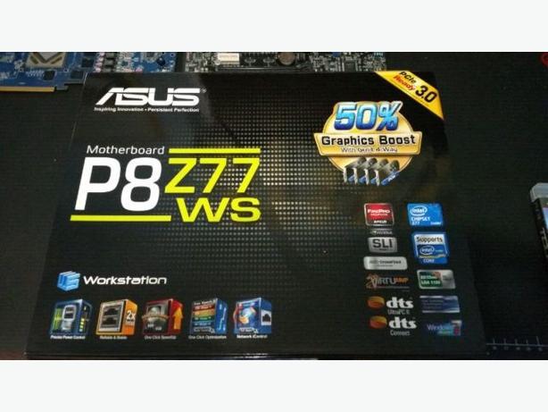 Asus Motherboard P8Z77-WS + G.Skills Ripsaw Ram 16GB (4x4GB)