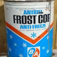 RARE 1967's B/A FROST COP ANTI-FREEZE IMPERIAL GALLON CAN - GULF