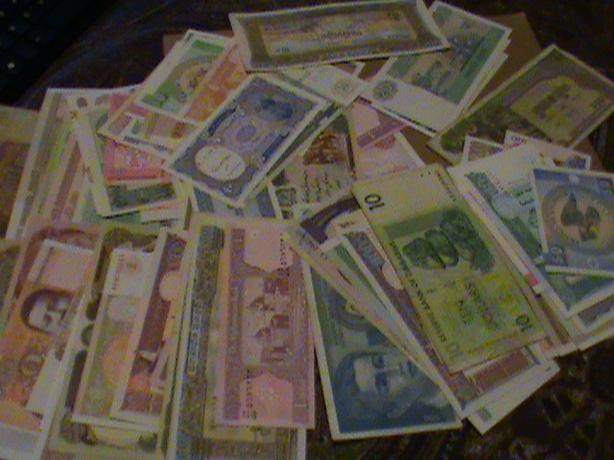 WORLD BANKNOTES $2 EACH