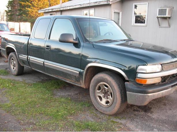 2001 Chevy Ext Cab