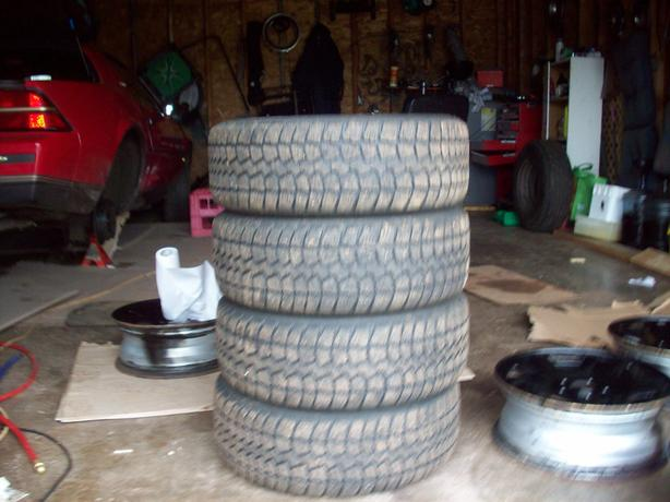 195/60/15 Studded Winter Tires
