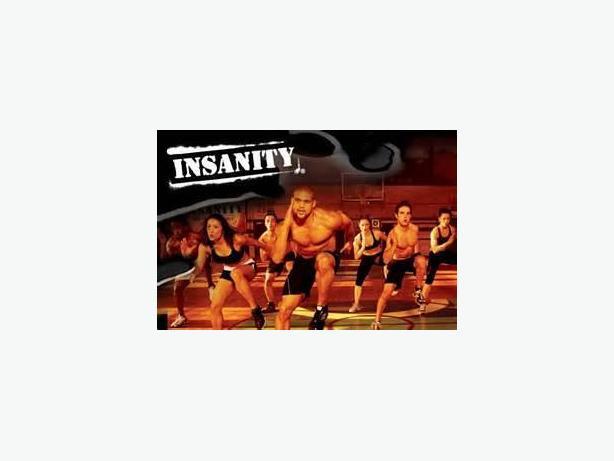INSANITY DVD Workout program