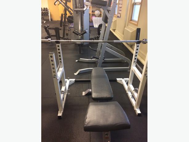 Bench/Squat Rack (rack only)