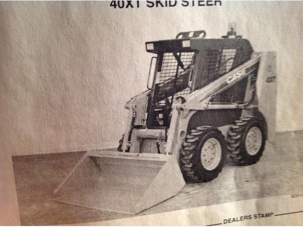 Case 40XT Skid Steer