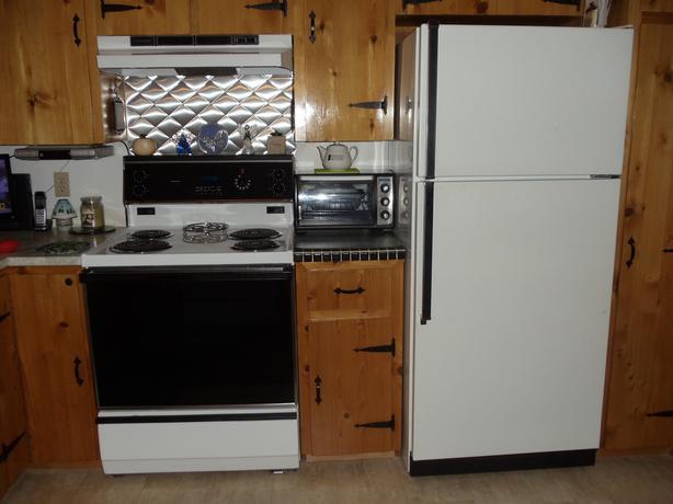 stove, Fridge and Dishwasher