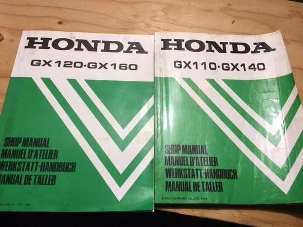 Honda gx service manuals
