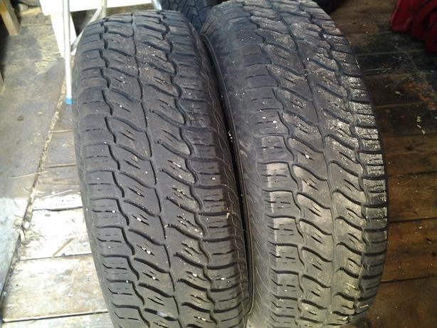 two tires size 235/75/15 wjnter tires