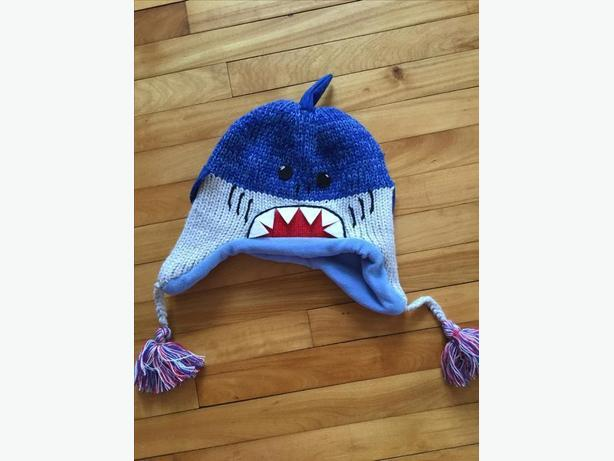 New shark hat from Kyber outerwear