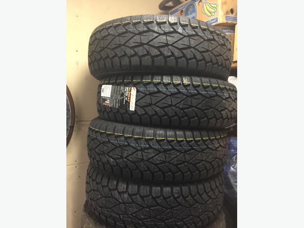 265/70/17  4 New All season tires
