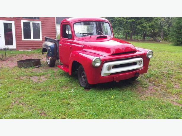 1956 International Half Ton Project