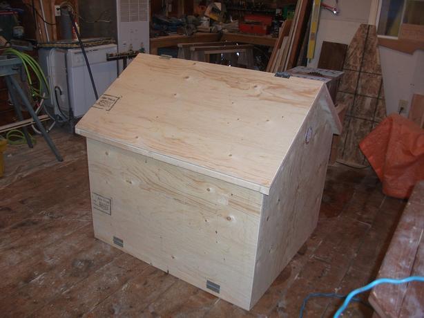 generator storage box for your deck, etc.