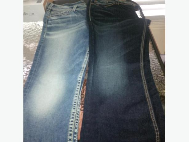 silver jeans size 32