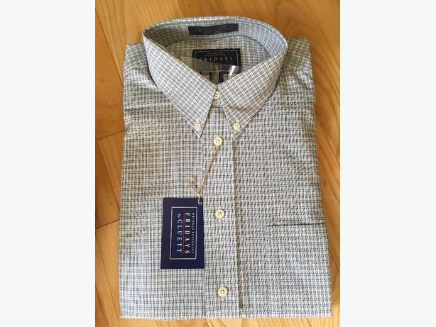 New- Men's dress shirt,  size 16 1/2,