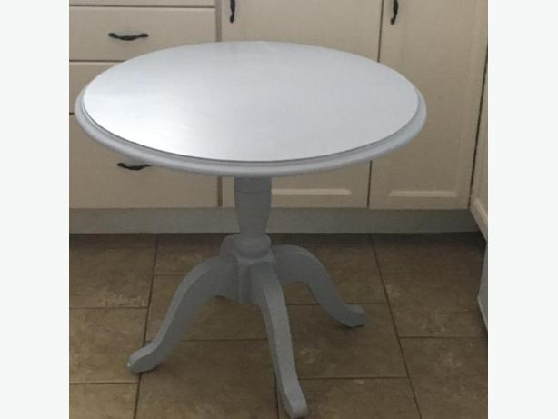 Antique Table Painted Grey