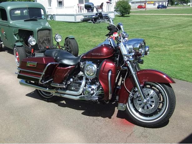 2002 HD Road King Custom