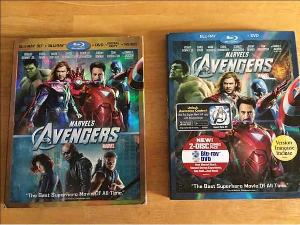 Marvel's Avengers DVDs