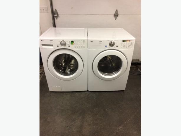LG TROMM Front Load Washer & Dryer