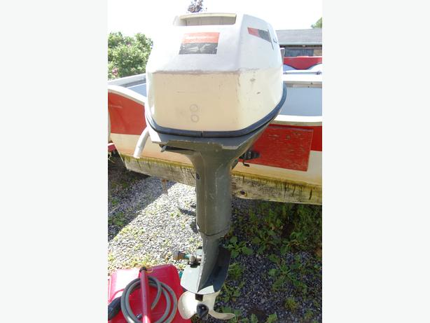 Johnson  Sea  Horse 9.5 , 9R70C Outboard