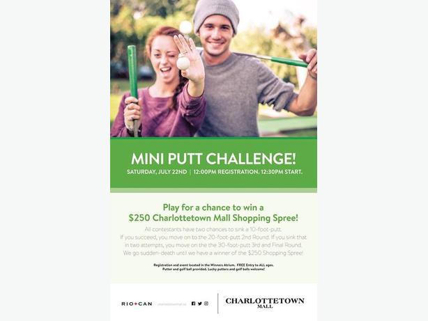 Charlottetown Mall's Mini-Putt Challenge!