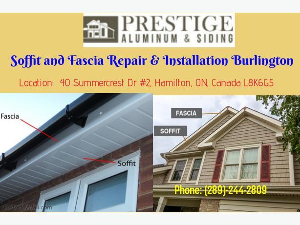 Soffit and Fascia Installation / Repair Vaughan | Prestige Aluminum