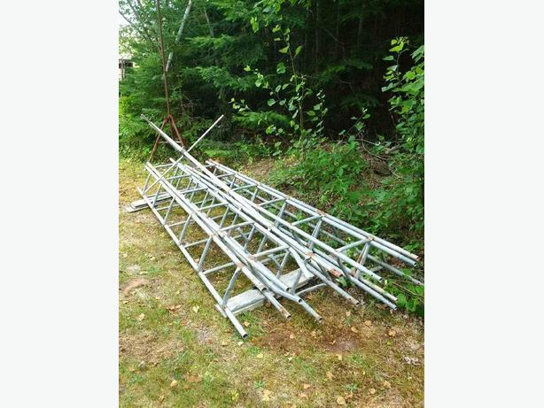 Antenna tower 5- 10 foot sections
